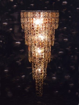 Spectacle Chandelier by Stuart Haygarth