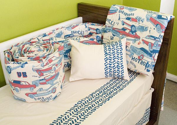Supercharged organic crib bedding by pixel organics - Green pixel bedding ...