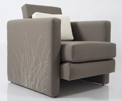 Sedge Lounge Chair by Ami McKay