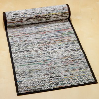 Twisted Recycled Newspaper Table Runner