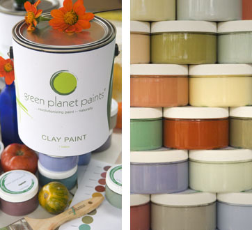 Put a little Earth on Your Walls: Green Planet Paints — Your guide to stylish, eco-friendly decor! :  healthy safe eco friendly eco friendly design