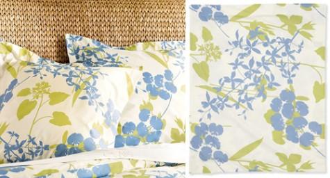 Fiona Organic Duvet Cover & Sham - detail