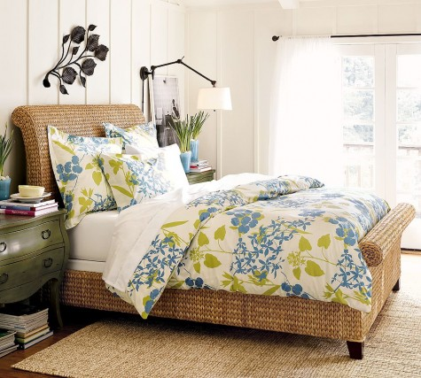 Floral Fabulous: Fiona Organic Duvet Cover & Sham — Your guide to stylish, eco-friendly decor! :  duvet organic green decorating bedding