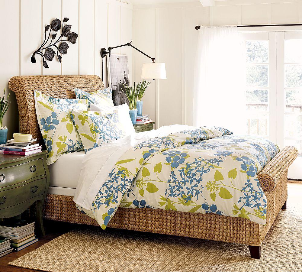 Your Organic Bedroom: Floral Fabulous: Fiona Organic Duvet Cover & Sham