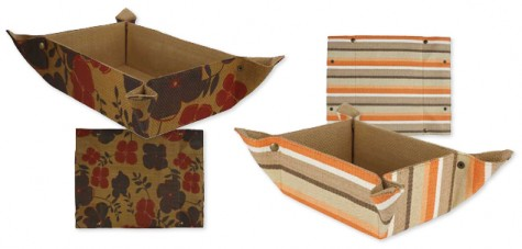 Powerful Paper: Recycled Paper Baskets  Your guide to stylish, eco-friendly decor! :  decorating placemat mouse pad basket