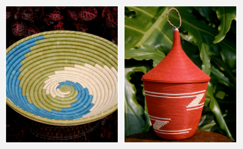 From Their Hands to Yours: Rwanda Baskets from Macys  Your guide to stylish, eco-friendly decor! :  fair trade eco friendly rwanda green decorating