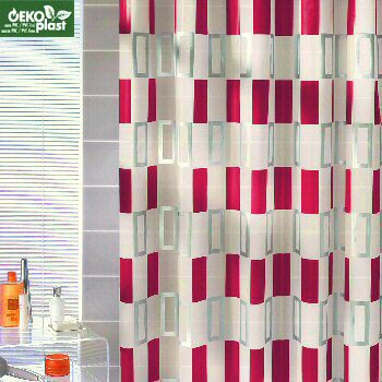 PEVA Bardo Shower Curtain