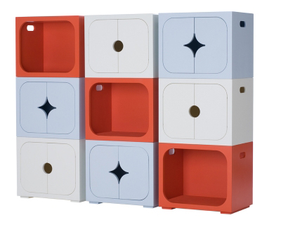 Start Them Off in Style Stella Stackable Units Your guide to stylish eco friendly decor from greenyourdecor.com