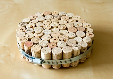 Recycled Cork Trivet