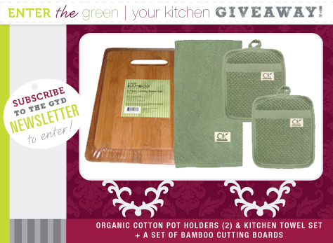 Green Your Kitchen Giveaway!