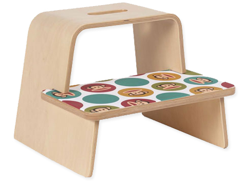 sc 1 st  Green Your Decor & Give them a Leg Up: Slice Step Stool by Paul Frank islam-shia.org