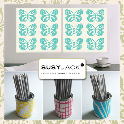 SusyJack Wall Panels and Pencil Cups