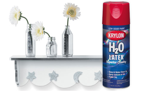 Krylon H20 Latex spray paint