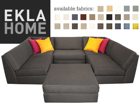 Box Sectional by EKLA HOME