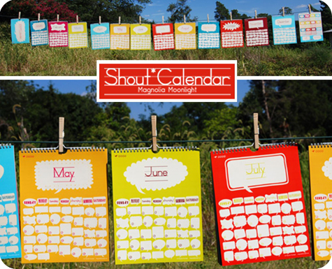 Magnolia Moonlight 2009 Shout Calendar
