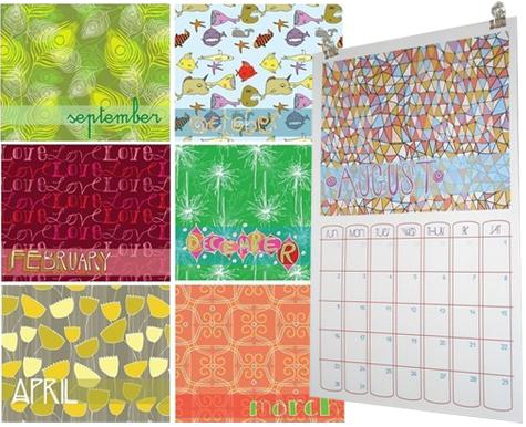 Jessica Gonacha 2009 Calendar