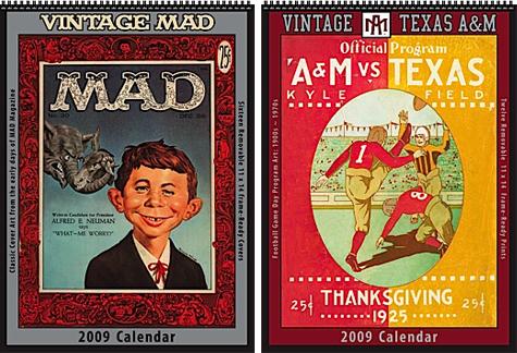 Asgard Press Vintage 2009 Calendars