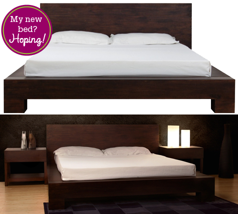 How Low Can You Go? Orchid Bamboo Platform Bed