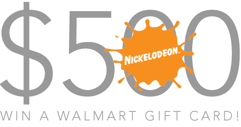 Nickelodeon $500 Walmart gift card Giveaway