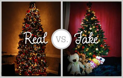 real christmas tree or fake
