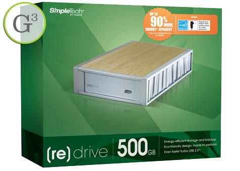 [re]Drive Bamboo hard drive