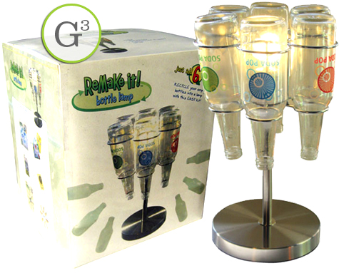 Great Green Gift: ReMake It! Bottle Lamp Kit
