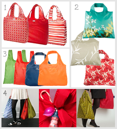 ReUsable Bags as Gift Wrap