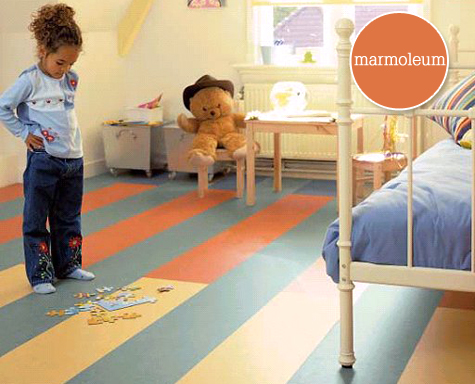 Marmoleum plank eco-friendly flooring -$3.99 per square foot
