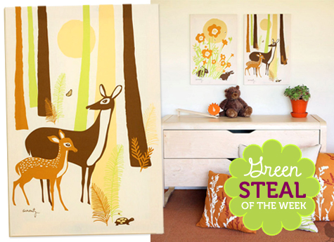 Green Steals of the Week: Amenity Organic Woods Print