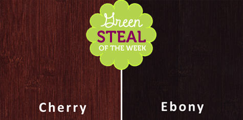 Green Steals of the Week: Horizontal Bamboo Flooring, $2.47/square foot