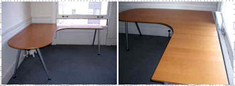IKEA Galant Corner Desk - Used