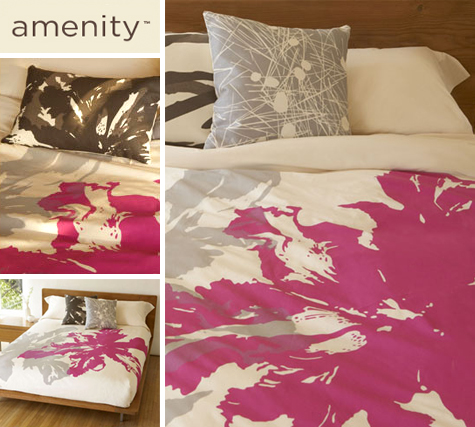 Burst of Color: New Fuchsia Birdseye Bedding from Amenity Thumbnail