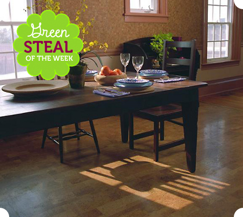 Green Steal of the Week: Cork Flooring Planks Thumbnail