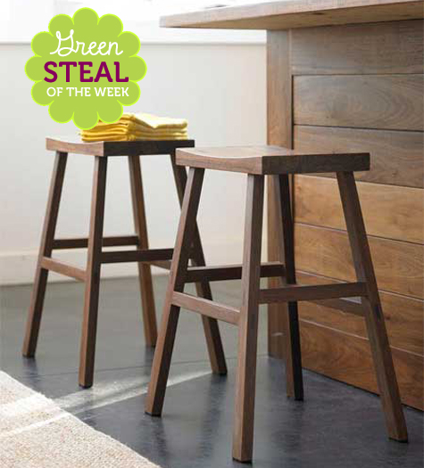 Green Steal of the Week: Bamboo Counter Stools Thumbnail