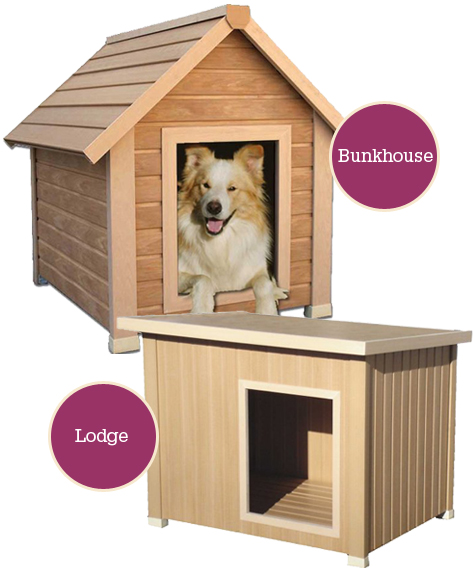 Luxe Doggie Living: Eco-Friendly, Recycled Doghouses Thumbnail