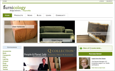 A Great Resource for Green Decorators: Furnicology.com Thumbnail