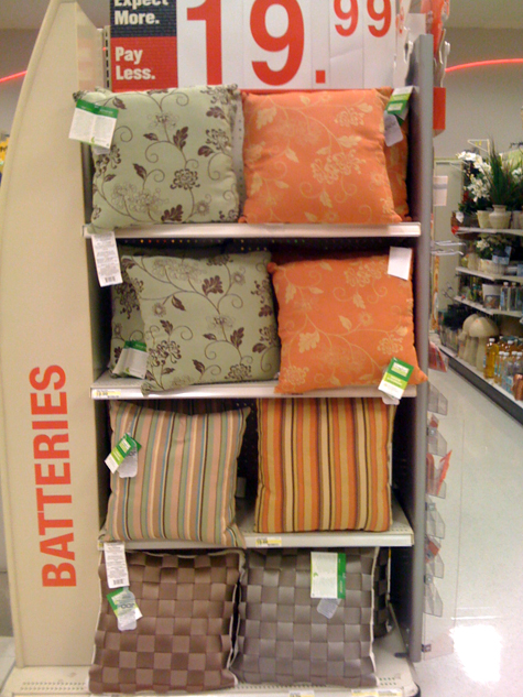 Finally, Green Outdoor Pillows: Comfort Earth pillows from Target Thumbnail