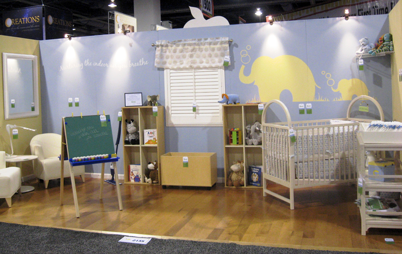 Eco on Display: Greenguard Nursery Decorated with Indoor Air in Mind Thumbnail