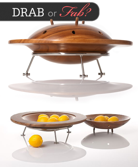 Drab or Fab: Flyer Saucer Bowl Set by Museum of Robots Thumbnail