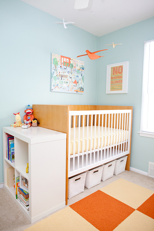 Friday Room Reveal: Kelli's Bright and Beautiful Nursery Thumbnail