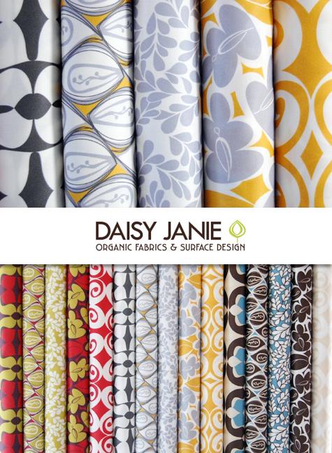 Get in the Mood to Create: Daisy Janie Organic Fabrics Thumbnail