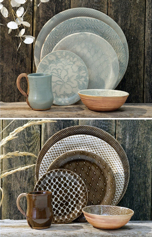 Post image for Eating on Art: Terrafirma Natural Dinnerware