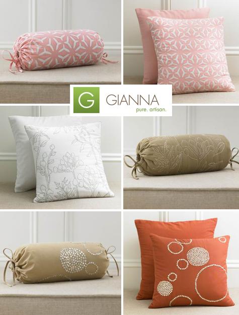 Pretty & Philanthropic: Organic, Fair Trade Pillows Thumbnail