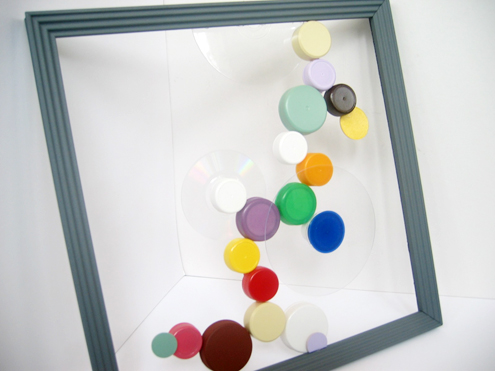 Ever Wonder What to Do with Bottle Caps? Make Art! Thumbnail