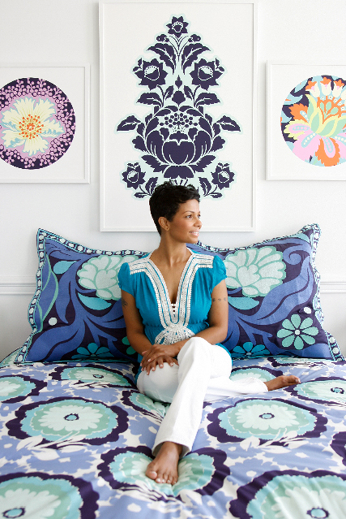More Amy Butler Loveliness: New Organic Bedding, Shower Curtains & Window Treatments Thumbnail