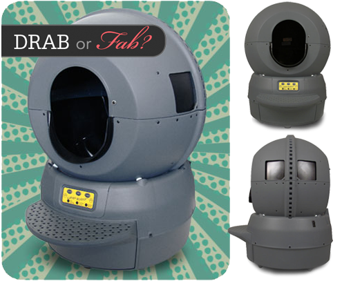 Drab or Fab: Self-Cleaning Kitty Litter Robot Thumbnail