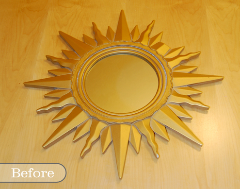 Before & After: A Tale (+Tutorial) of a Sunburst Mirror Thumbnail