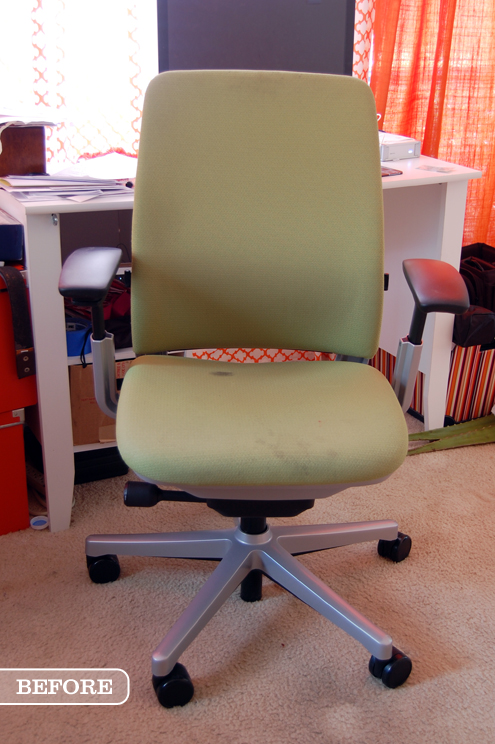 Before & After: New Upholstery for my Steelcase Amia Chair Thumbnail