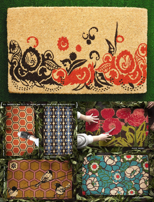 Welcome Home: Eco-Friendly Doormats by India Rose Thumbnail
