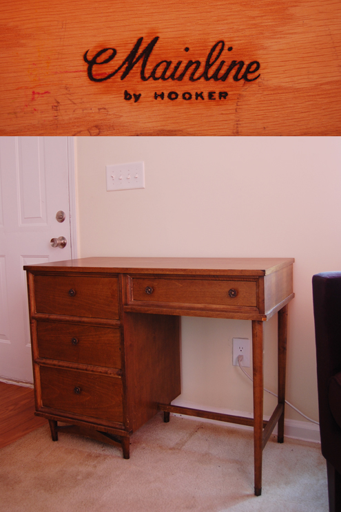 My New, Mid-Century Desk: Mainline by Hooker Thumbnail